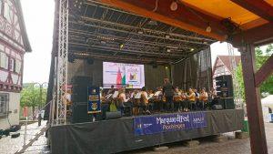 Stadtkapelle beim Plochingen Marquardtfest 2017