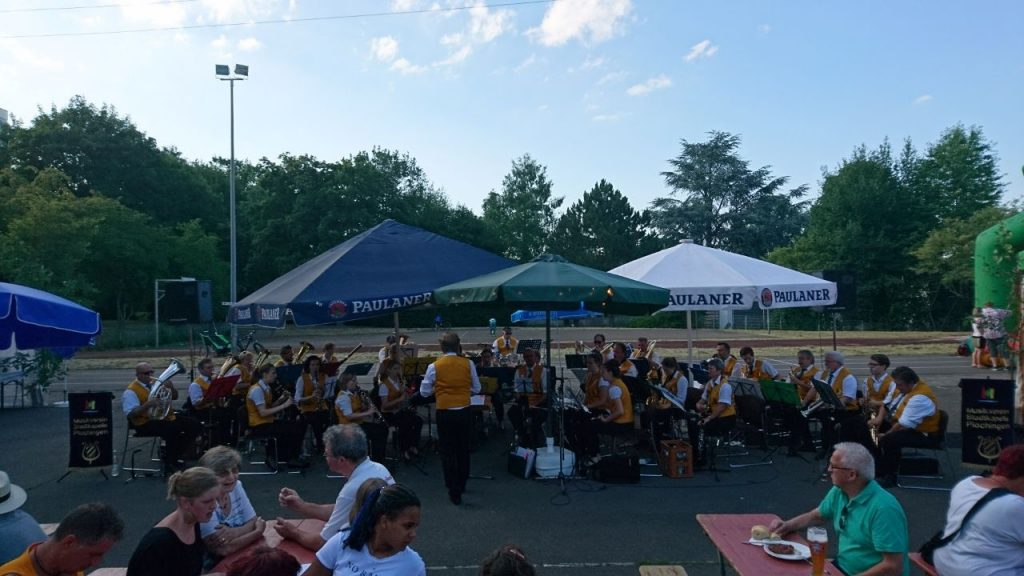 Sommerfest beim Musikverein Berkheim 2017