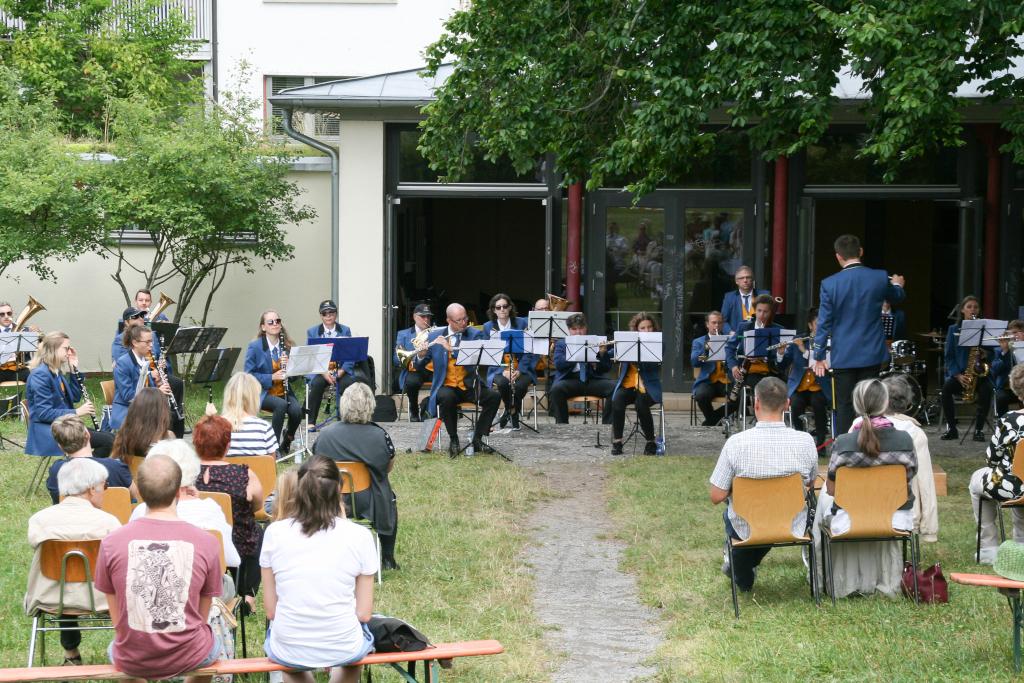 MV Stadtkapelle begeistert mit Open-Air Sommerkonzert