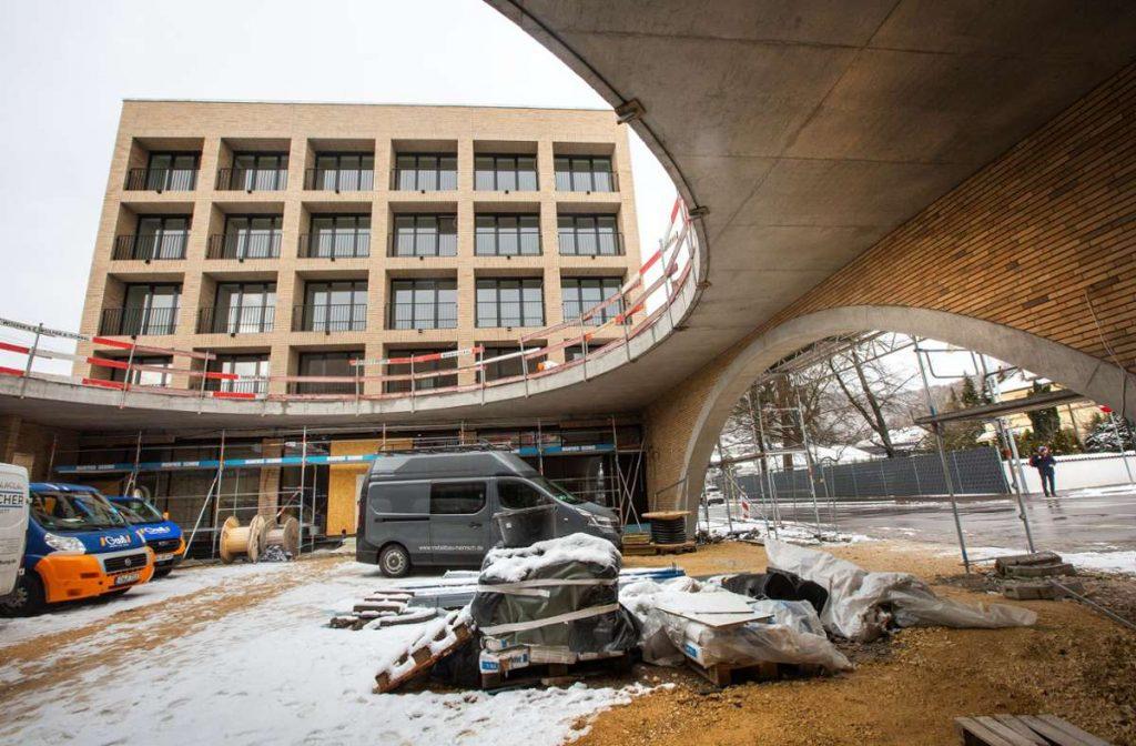 Baufortschritt Musikzentrum Baden-Württemberg